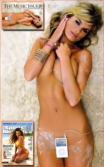 Marisa Miller pour Sports Illustrated Swimsuit Issue 2007.