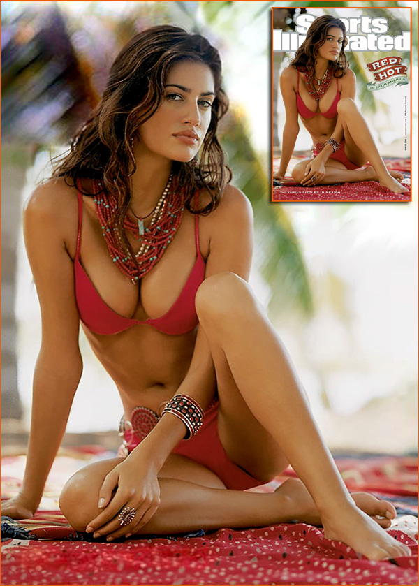 Yamila Diaz-Rahi par Jeff Bark pour Sports Illustrated Swimsuit Issue 2002.