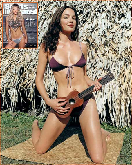 Chandra North dans SI Swimsuit Issue 2000 (Photo: Walter Chin).