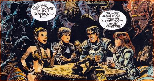 Star Wars s'inspire de Valérian.