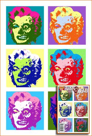 Ten Marilyns selon Arthur Suydam.