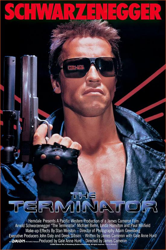 Terminator de James Cameron.