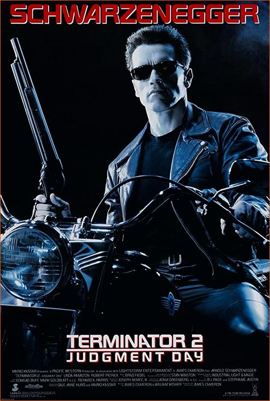Terminator 2 : Le jugement dernier de James Cameron.