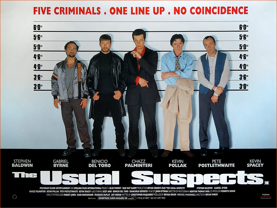 Usual Suspects de Bryan Singer.