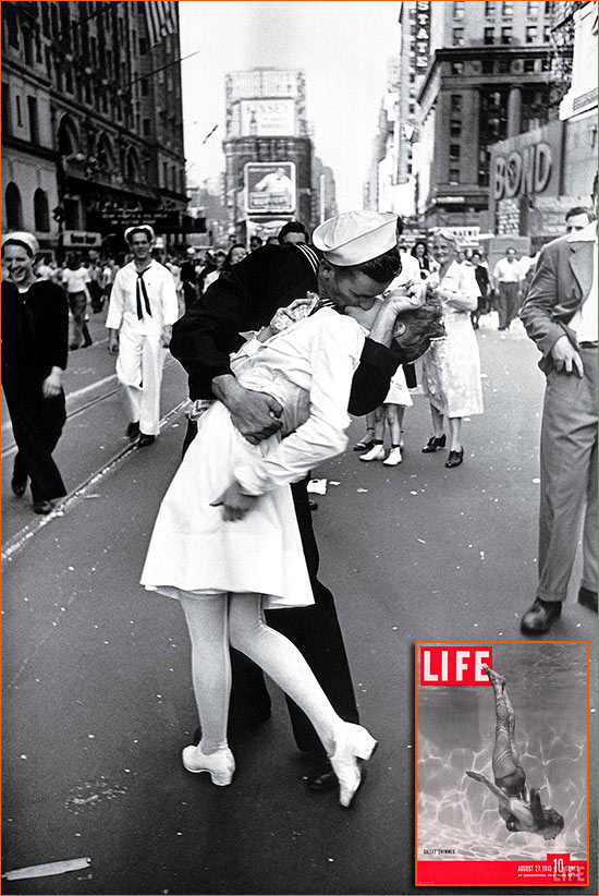 V-J Day in Times Square d'Alfred Eisenstaedt.