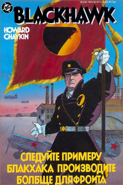 WWII Russian selon Howard Chaykin.