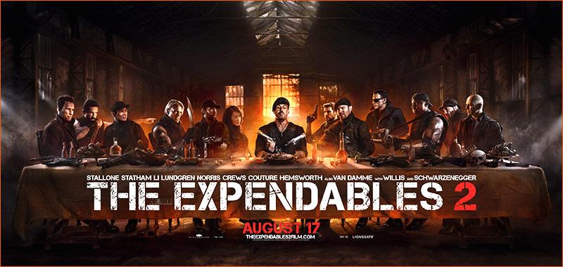 La Cène / Expendables 2.