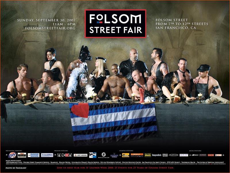 La Cène / Pub Folsom Street Fair.