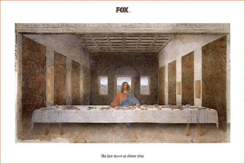 La Cène / Pub Fox.