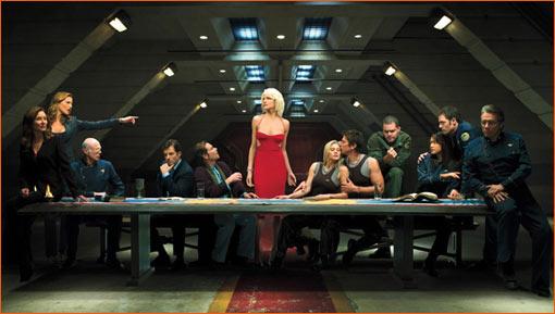 La Cène / Battlestar Galactica.