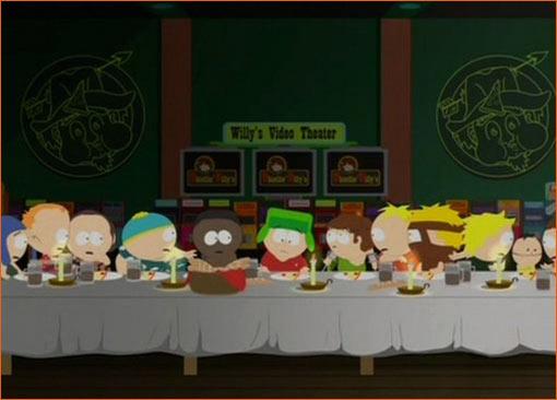La Cène / South Park.