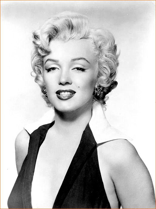 Photographie de Marilyn Monroe prise par Gene Corman (1950).