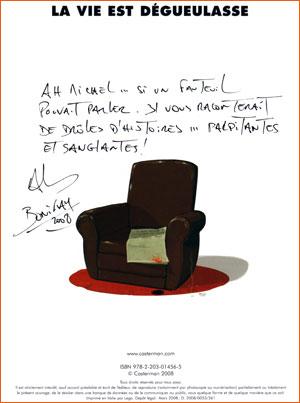 La trilogie noire (Casterman) - Dédicace de Philippe Bonifay.