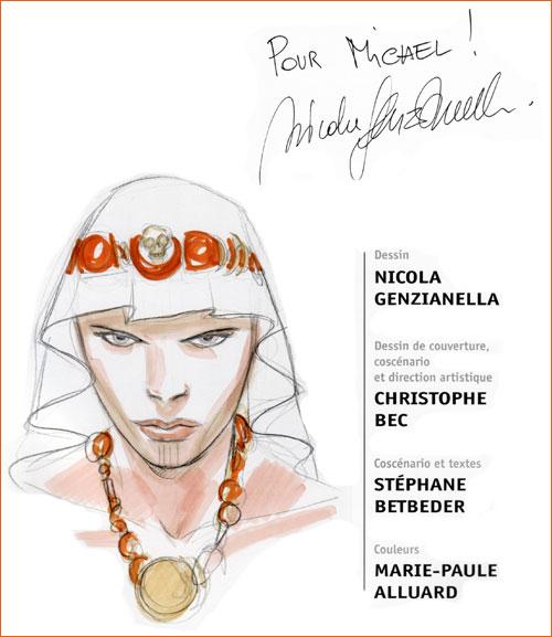 Dédicace de Nicola Genzianella (Bunker).