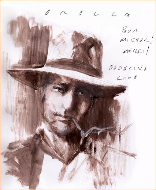 Dédicace de Paolo Grella.