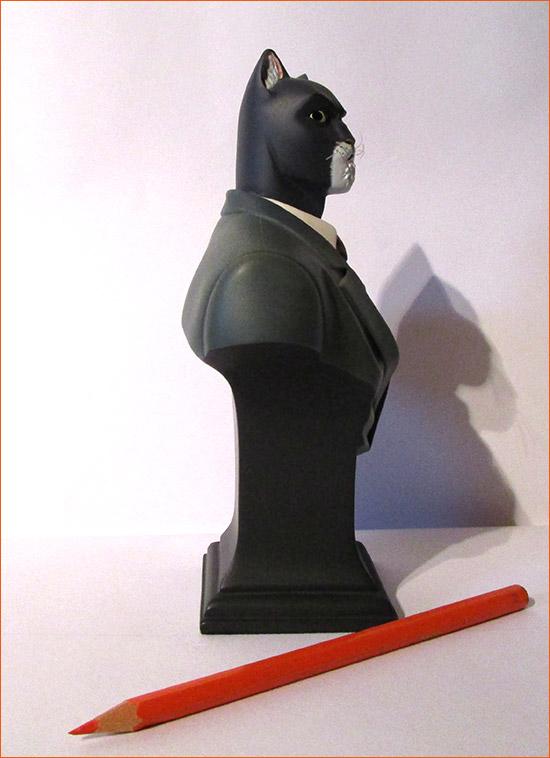 John Blacksad (Attikus) - Côté droit.