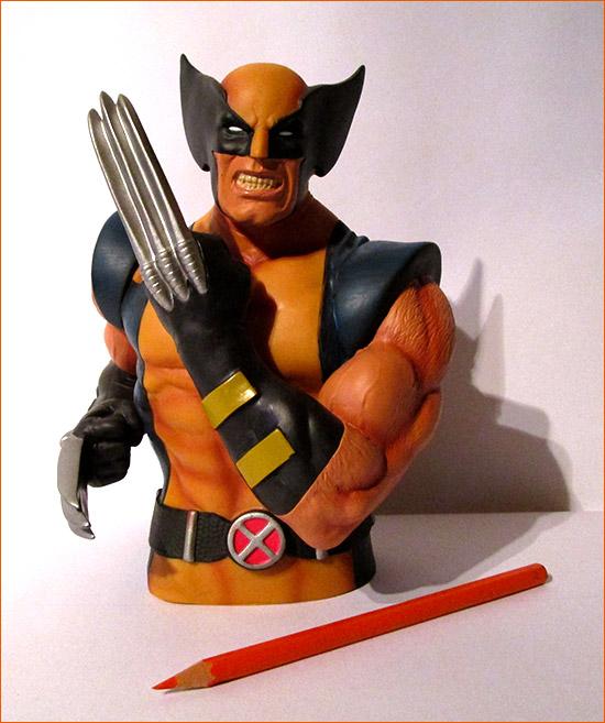 Tirelire Wolverine (Semic Distribution) - Face.