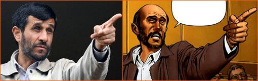 Mahmoud Ahmadinejad selon Carlos Pacheco.