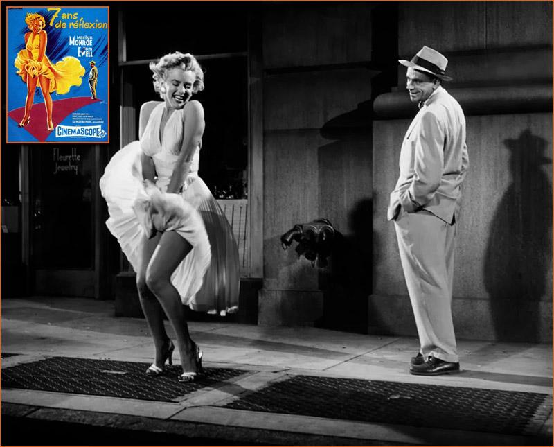 7 ans de réflexion de Billy Wilder (1955).
