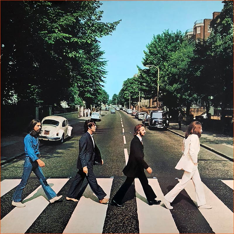 Abbey Road des Beatles.