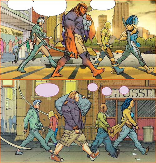 Abbey Road selon Pascual Ferry.