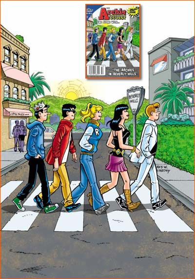 Abbey Road selon Rex W. Lindsey