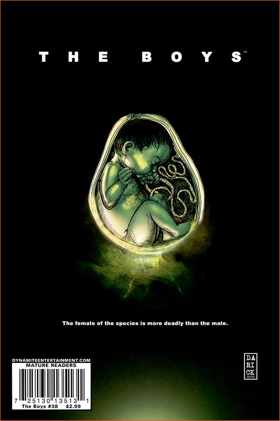 Alien, le huitième passager selon Darick Robertson.