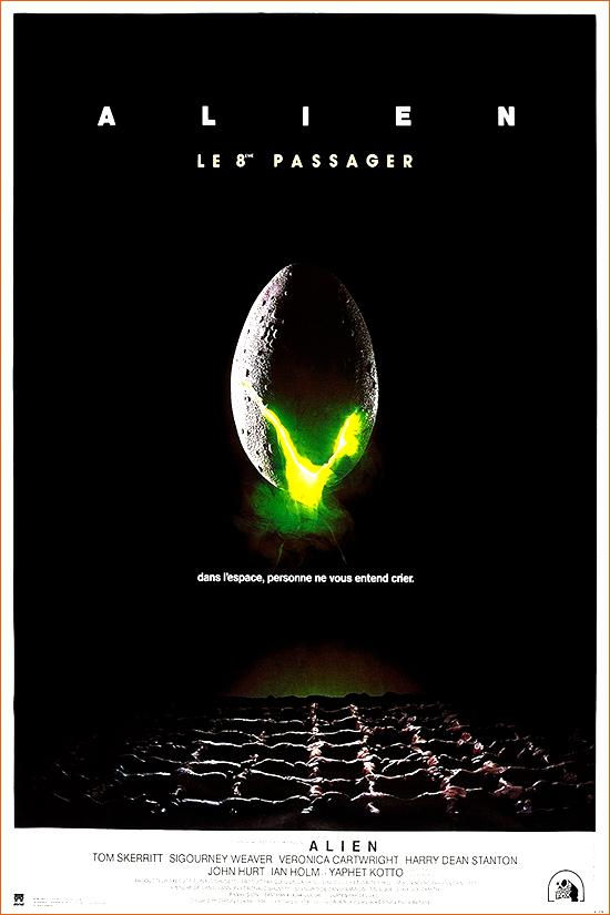 Alien, le huitième passager de Ridley Scott.