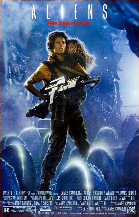 Aliens le retour de James Cameron.