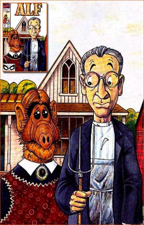 American Gothic selon Dave Manak.