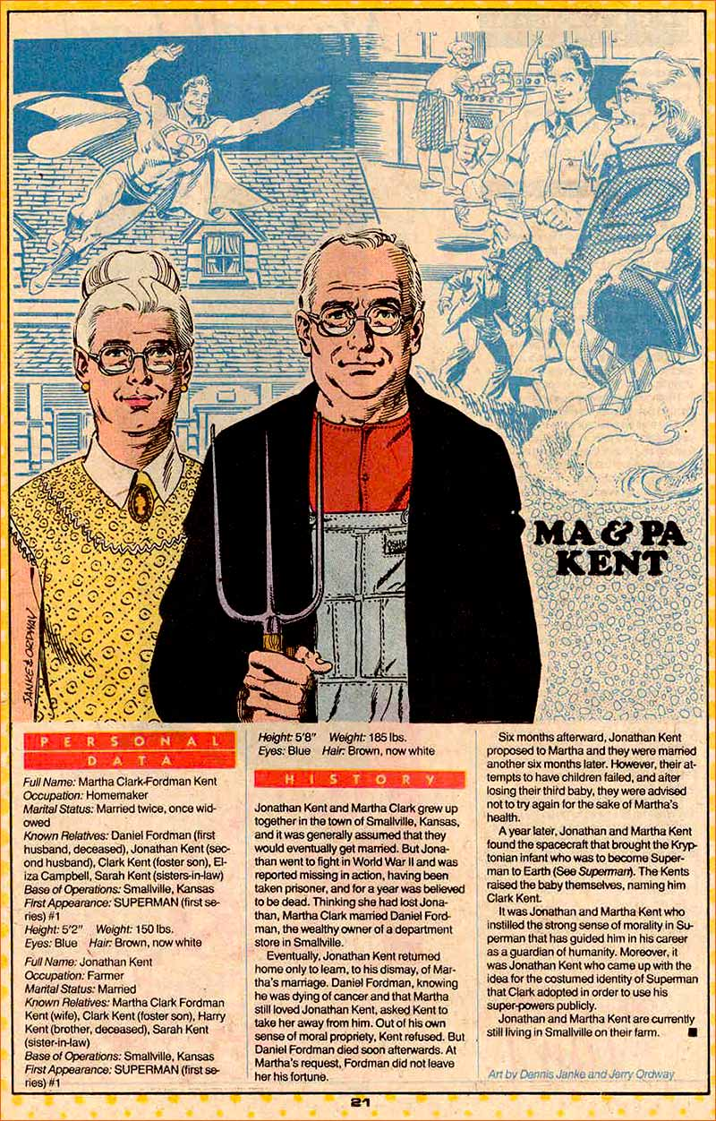 American Gothic selon Jerry Ordway.