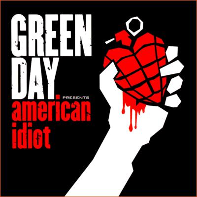 American idiot de Green day.