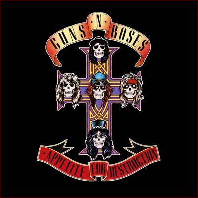 Appetite for destruction des Guns N' Roses.