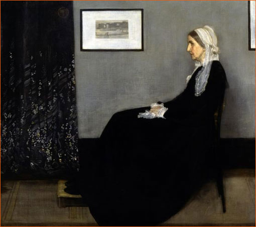 Arrangement en gris et noir n°1 de James Abbott McNeill Whistler.