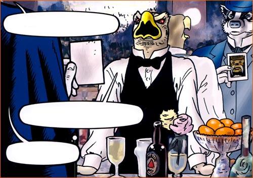 Un bar aux Folies-Bergères selon Bryan Talbot.