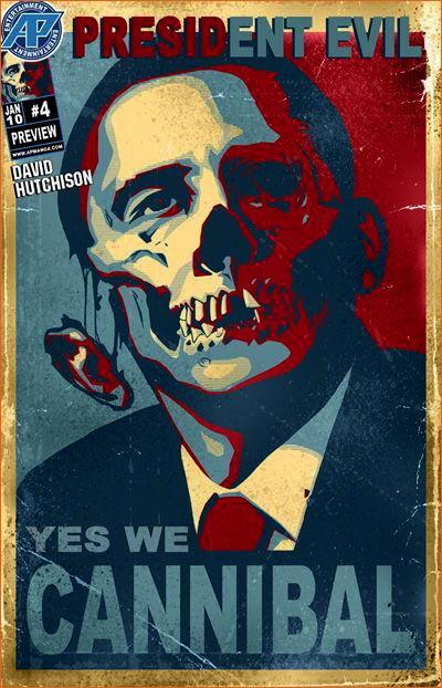 The Barack Obama Hope poster selon David Hutchison.
