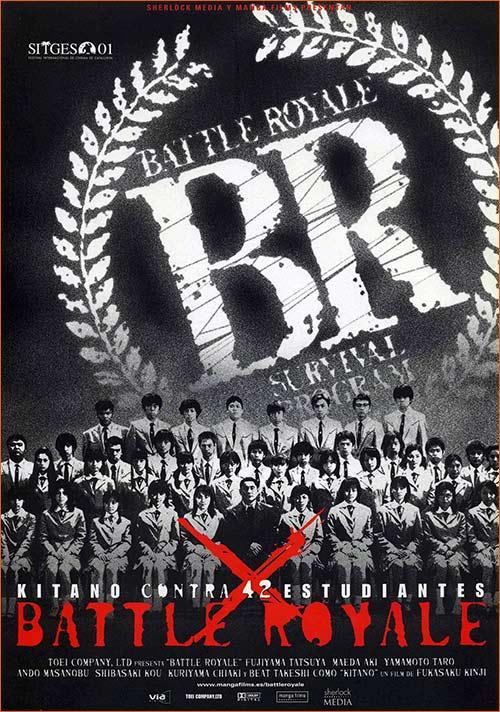 Battle Royale de Kinji Fukasaku.