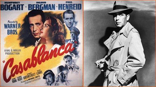 Casablanca de Michael Curtiz.