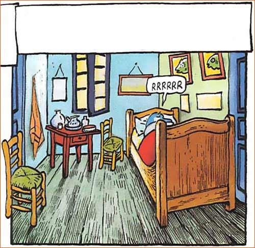 La chambre de Van Gogh à Arles selon Johan De Moor.