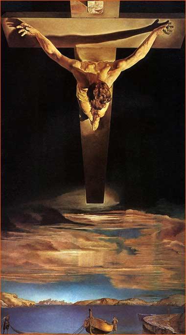 Le Christ de saint Jean de la Croix de Salvador Dali.