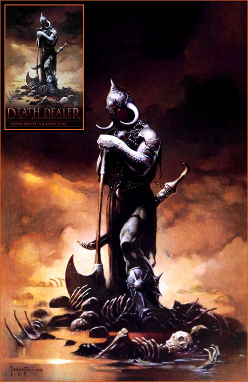 Death Dealer III de Frank Frazetta.