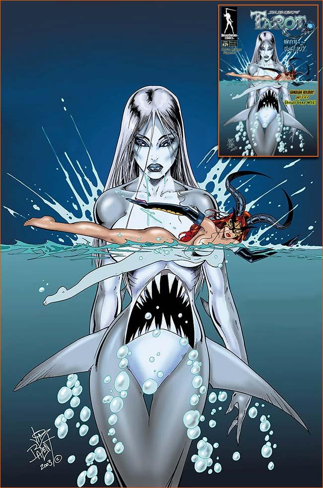 Les dents de la mer selon Jim Balent.