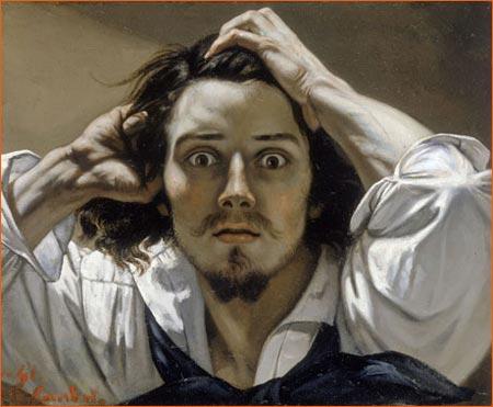 Autoportrait dit Le Désespéré de Gustave Courbet.