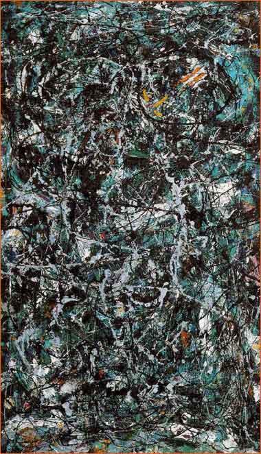 Full Fathom Five de Jackson Pollock.