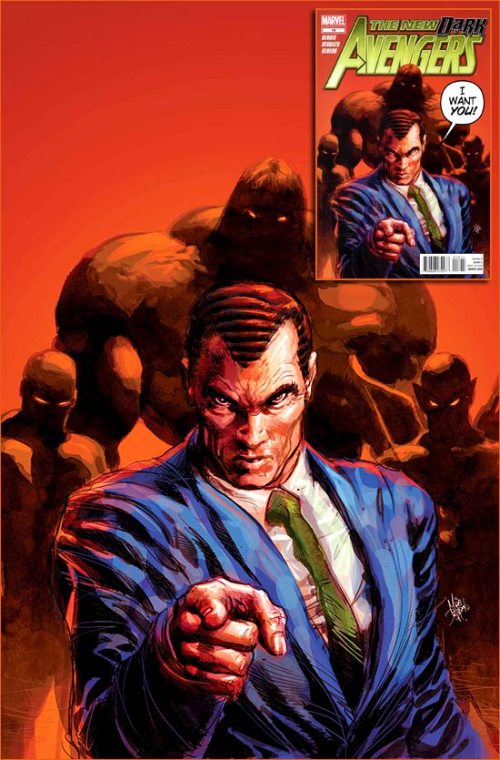 I want you for U.S. Army selon Mike Deodato.