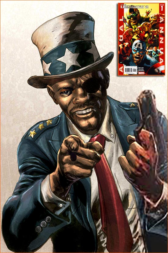 I want you for US Army selon Bryan Hitch.