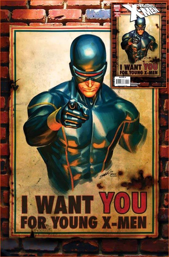 I want you for U.S. Army selon Marc Silvestri.