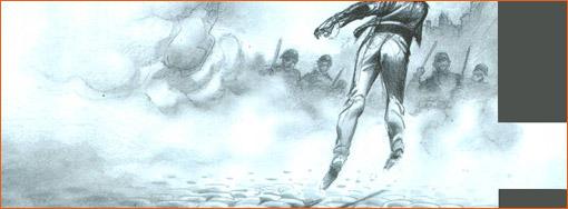 Le lanceur de pavé selon Yslaire.