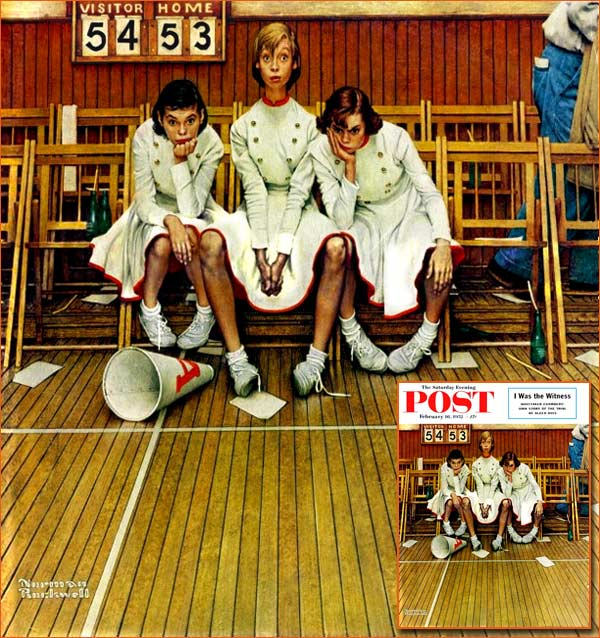 Losing the game de Norman Rockwell.