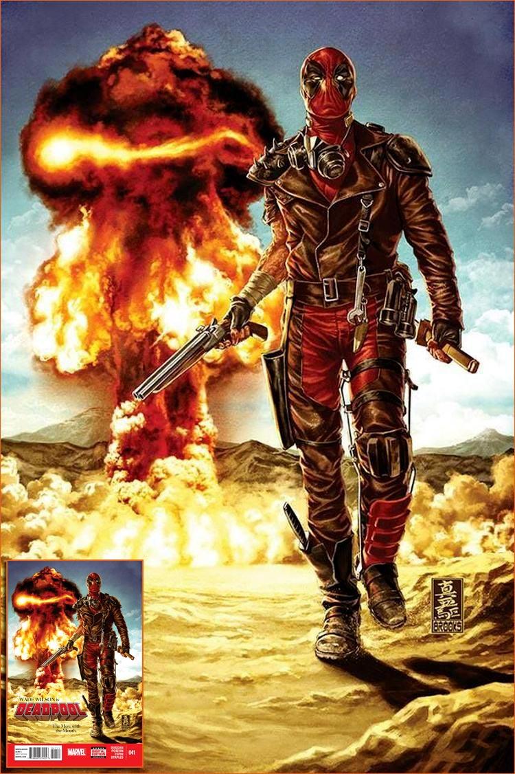 Mad Max selon Mark Brooks.